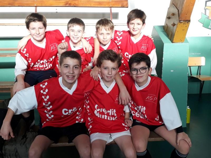 Equipe benjamins Futsal